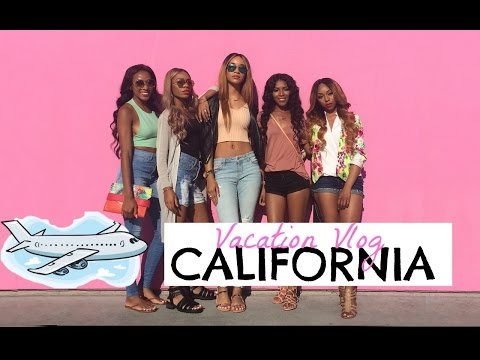 Vacation Vlog| CALIFORNIA