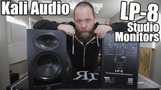 Kali Audio LP-8 Studio Monitors!