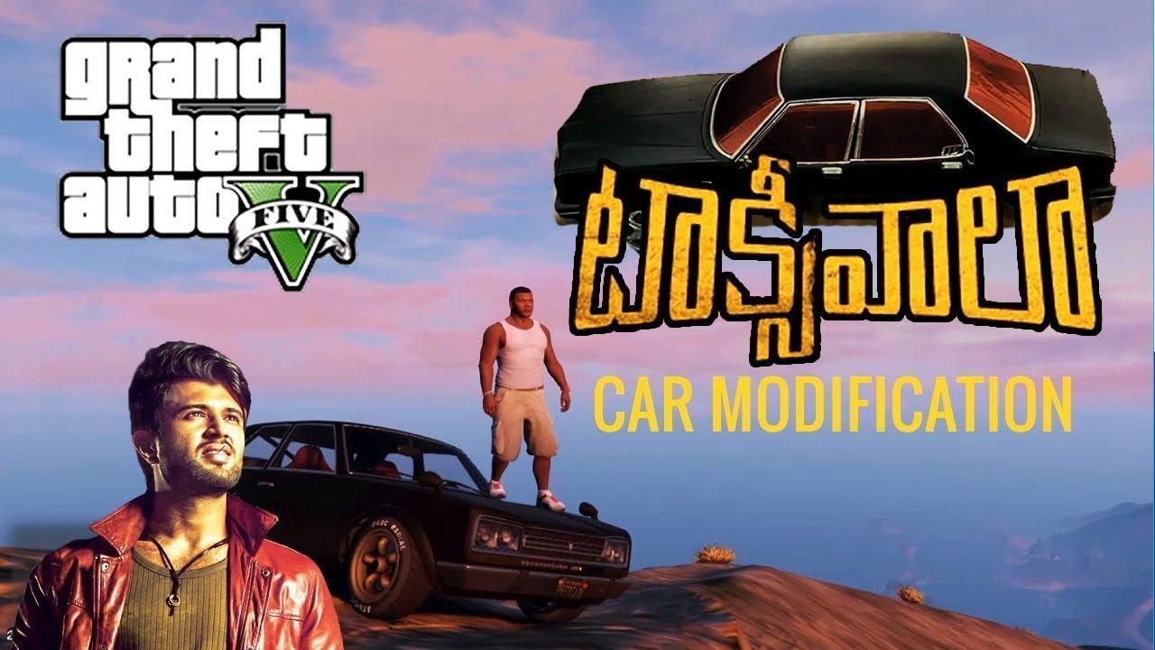 Taxiwala Movie Car Modified Gta 5 Vijay Deveramkonda Youtube