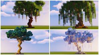 Custom Fantasy Tree Designs | Minecraft Tutorial