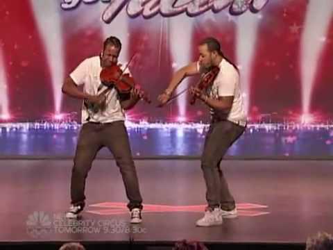 America got talent - Nuttin but stringz - Amazing violin