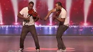 Repeat youtube video America got talent - Nuttin but stringz - Amazing violin