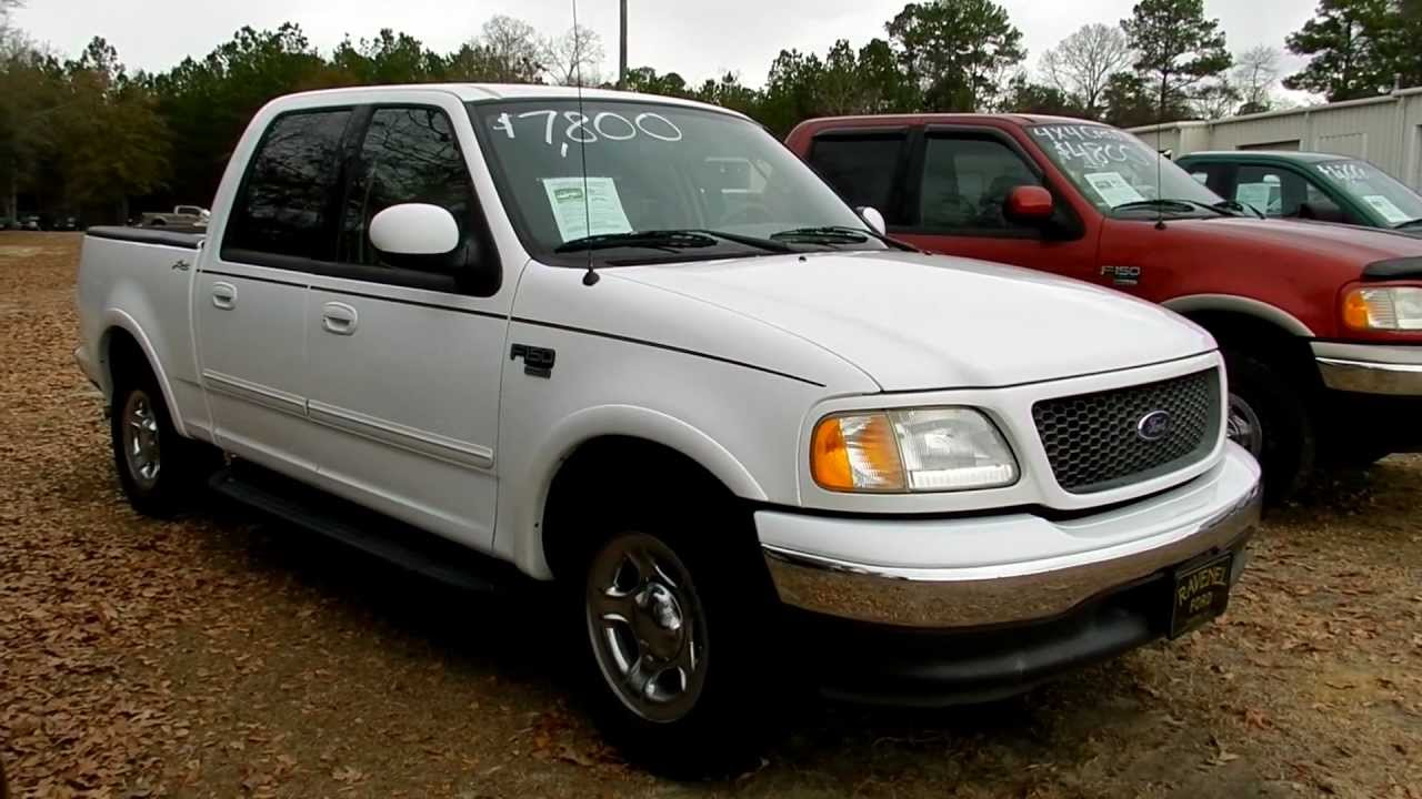 2003 ford f 150 review lariat supercrew for sale ravenel ford charleston youtube. Black Bedroom Furniture Sets. Home Design Ideas
