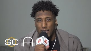 Saints' Michael Thomas reacts to last-second win over the Texans | SC with SVP thumbnail