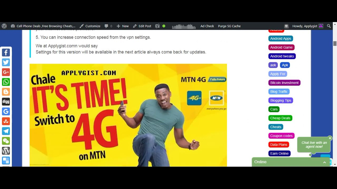 How to Activate MTN Ghana Free 50GB Data