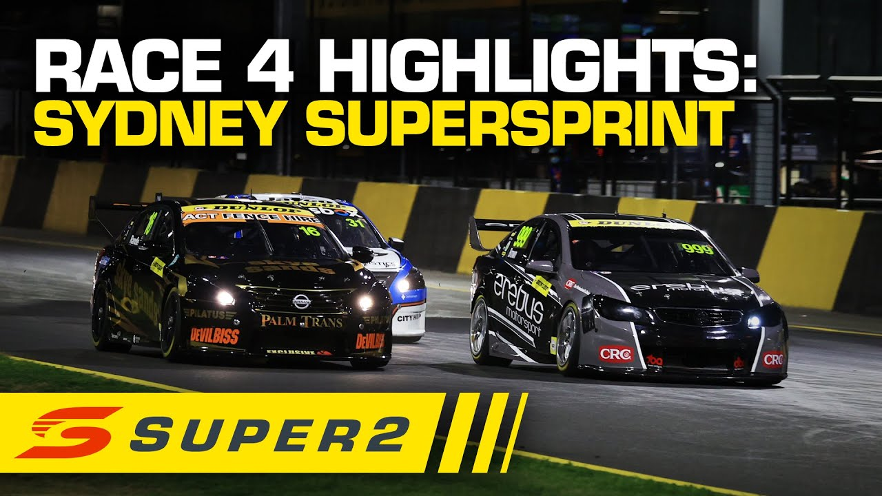 Highlights: Race #4 - Sydney SuperSprint | Super2 2020