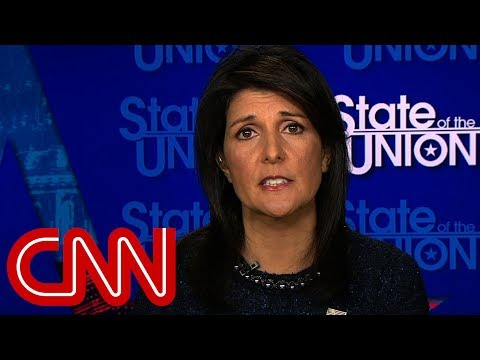 Nikki Haley: Jerusalem move pushes ball forward for peace