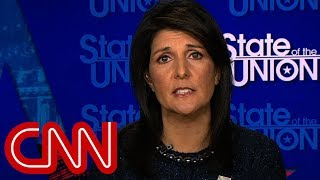 Nikki Haley: Jerusalem move pushes ball forward for peace thumbnail