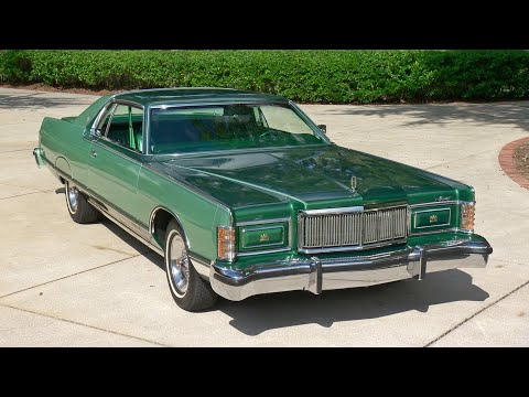 The Big Green Land Yacht | Reptile Skin Trim Package | 1970's Luxury Cars