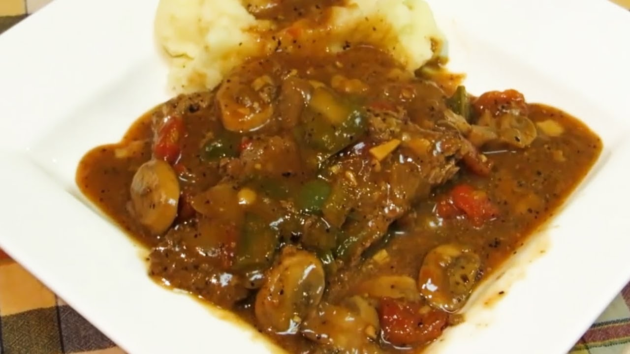 Old fashioned swiss steak classic smothered steak recipe easy old fashioned swiss steak classic smothered steak recipe easy and delicious forumfinder Choice Image