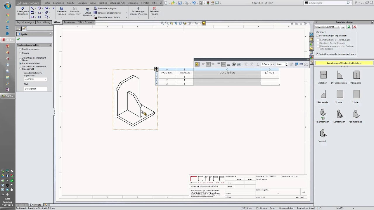 SolidWorks Tipp - Zuschnittslisten eigener Platten in den ...