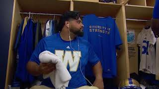 Canada West Football Alum of the Month (Oct. 2018) - Sukh Chungh (Bombers)