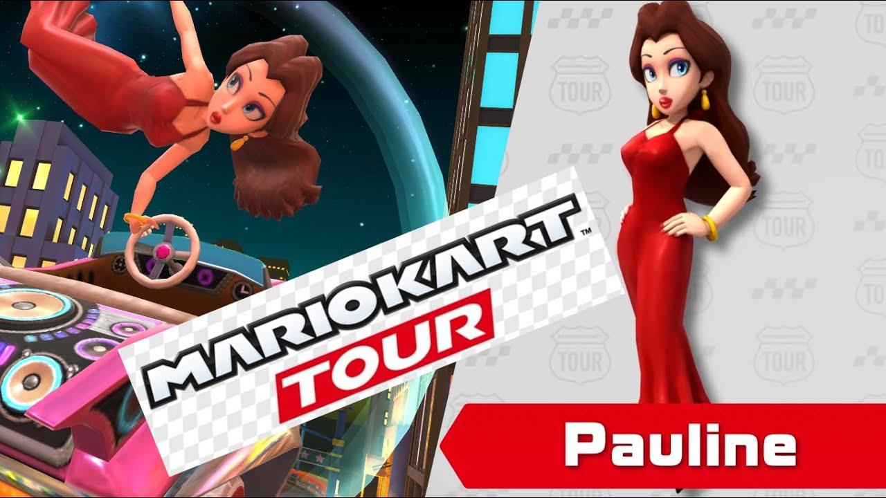 Pauline Is Playable In Mario Kart Tour