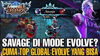 Baixar SAVAGE DI MODE EVOLVE?? CUMA TOP GLOBAL EVOLVE YANG BISA!! - Mobile Legends