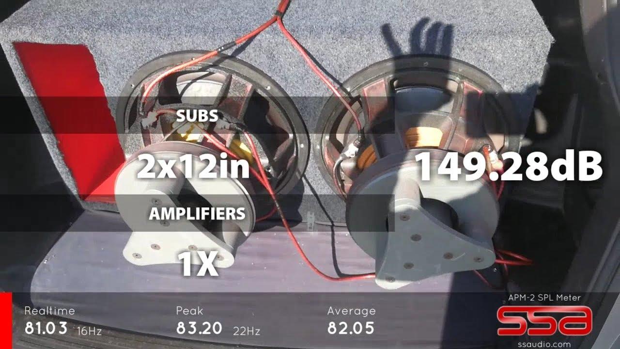 2 FI AUDIO SP4 15S GREAT POWERED TARAMPS HD10 000 LOUDEST BASS CRAZY
