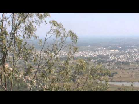 Anthargange hill view - Kolar City