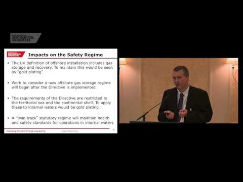 Health and safety executive's offshore directive