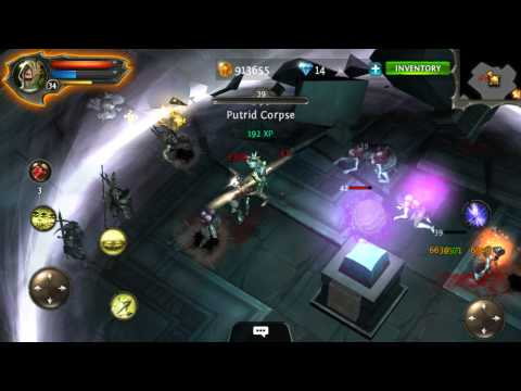 Dungeon Hunter 4 Android Gameplay Part 26 The Wasteland / Ancient Ruins
