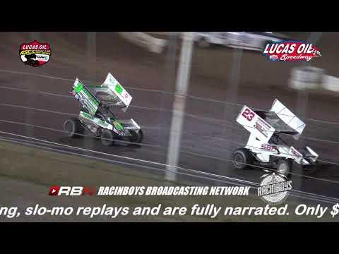 Lucas Oil ASCS Fall Brawl I-80 Speedway Sept 30, 2017