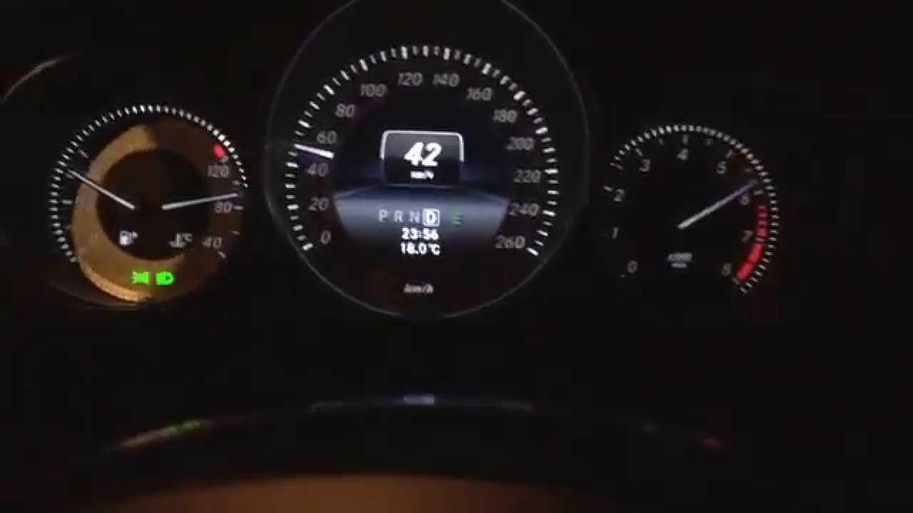 Mercedes C180 M274 0-100 км/ч