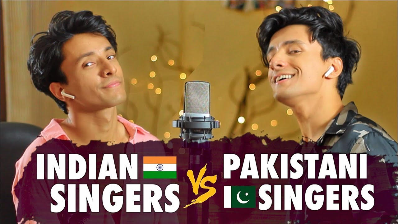 Indian Singers v/s Pakistani Singers (SING OFF by Aksh Baghla)
