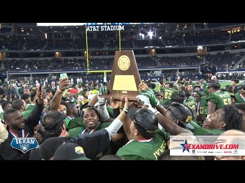 Desoto vs Cibolo Steele - 2016 Football State Championship - Highlights