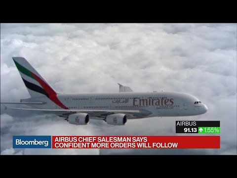 Airbus Secures Emirates A380s Order Worth $16 Billion