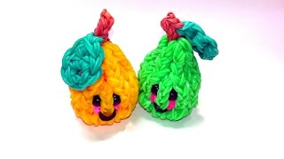 3-D Happy Pear Tutorial (Rainbow Loom)
