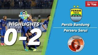 Persib Bandung vs Perseru Serui: 0-2 All Goals & Highlights - Liga 1