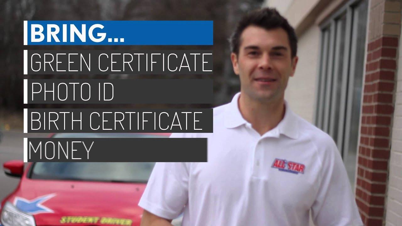 star on drivers license michigan
