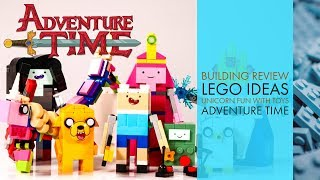 Lego Ideas Adventure Time Building Review 21308