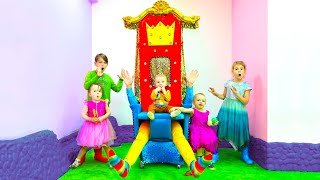Five Kids Magic Throne + more Children's Videos