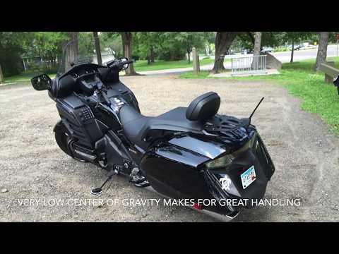 Honda F6B Goldwing 2013 tour and ride
