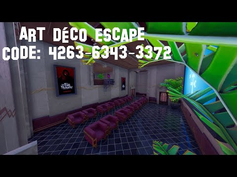 ART DéCO ESCAPE By Punti_ | My New Fortnite Map