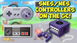 Use SNES & NES Controllers On The GameCube! Raphnet Classic Adapter!