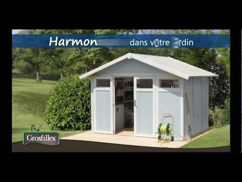 Prsentation Abri Pvc Garden Home Grosfillex  Youtube
