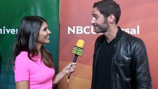 Tom Ellis from Rush @ NBC Red Carpet | AfterBuzz TV Interview
