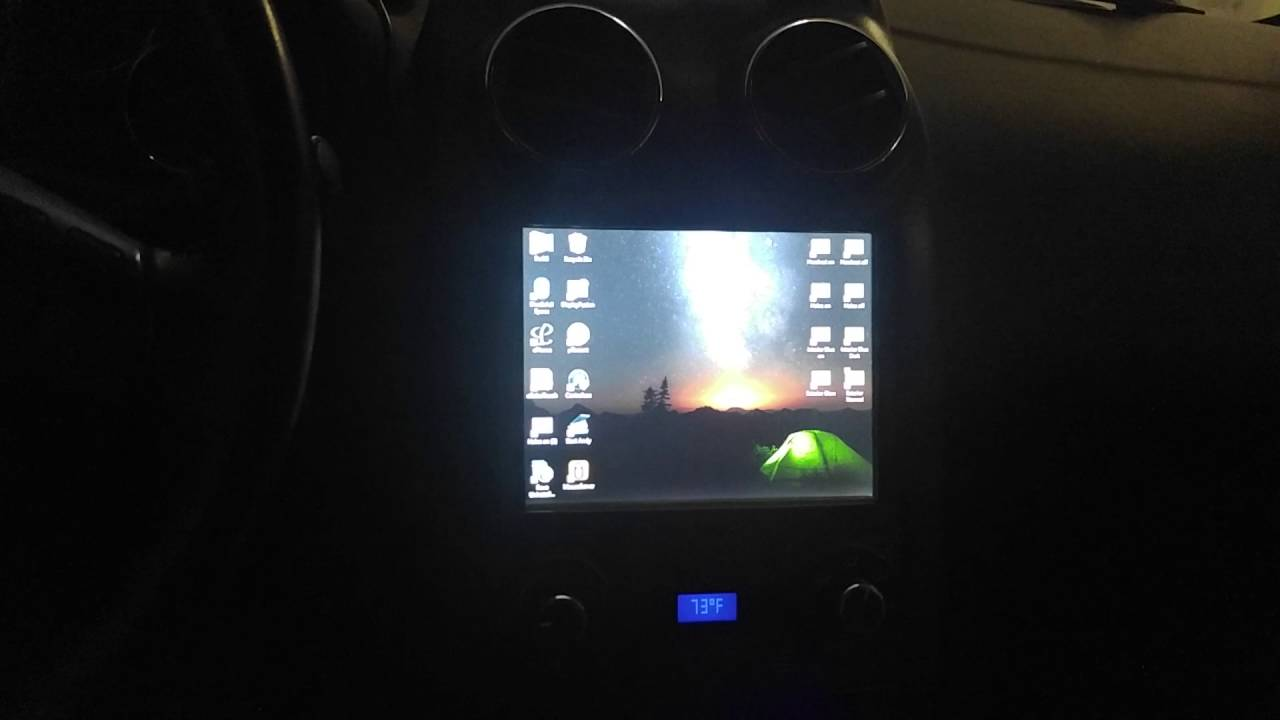 Car Pc Windows 10: CarPc Using Windows 10 Setup On Pontiac G6