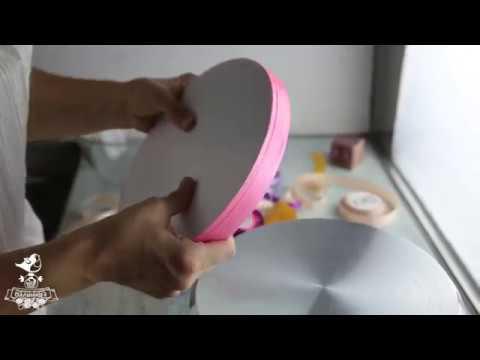 Как сделать подложку на торт