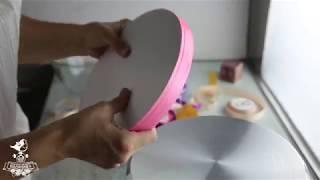Делаем подложку для торта | Как сделать подложку для торта?