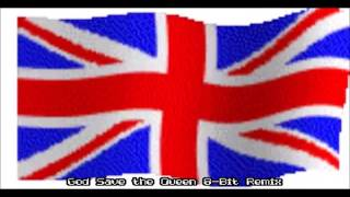 god save the queen 8 bit remix