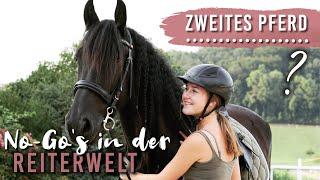 ZWEITES PFERD? No-Go's in der Reiterwelt? | Chaotisches Q&A im Stall | Pilsali