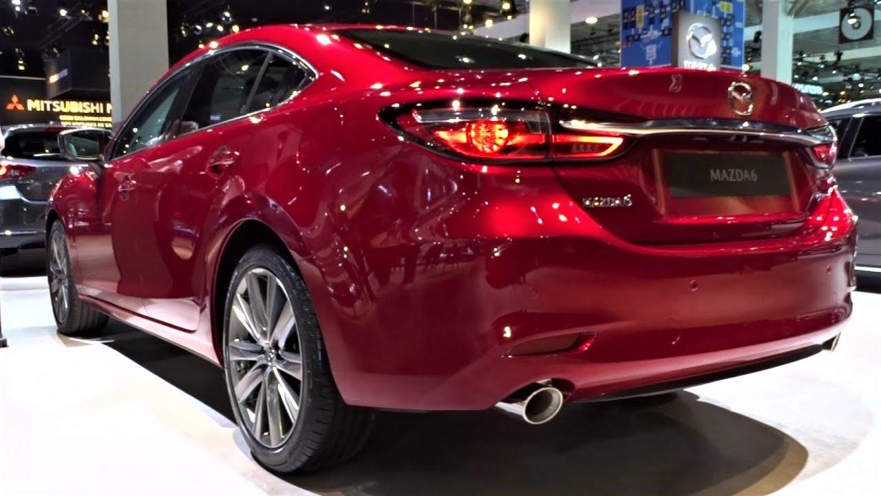 Khám khá mẫu xe Mazda 6 tại triển lãm ô tô