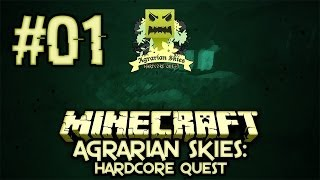 AGRARIAN SKIES #01 ★ FTB Skyblock ★ Let's Play Minecraft Feed The Beast ★ Deutsch HD