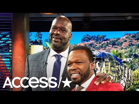 Watch Shaq Surprise A Stunned 50 Cent Mid-Interview: 'As Long As It's Not Wendy Williams'