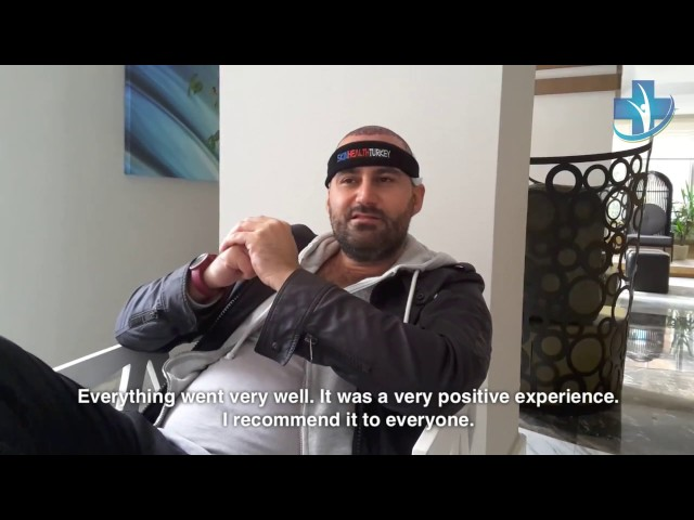 Hair Transplantation Turkey - Mr. Pasquale Agresta Testimonial - Skin Health Turkey / Dr. Oyku Celen