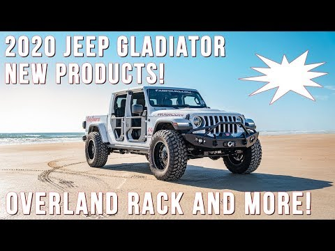 2020 Jeep Gladiator New Products: Overland Rack And More! [2019]