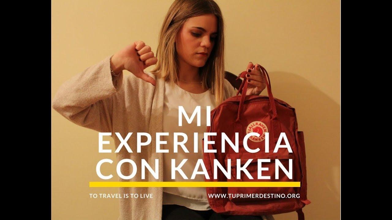 5bbd8355c06 MI EXPERIENCIA CON LA MOCHILA KANKEN! - YouTube