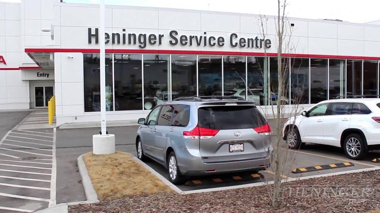 heninger toyota service super centre youtube