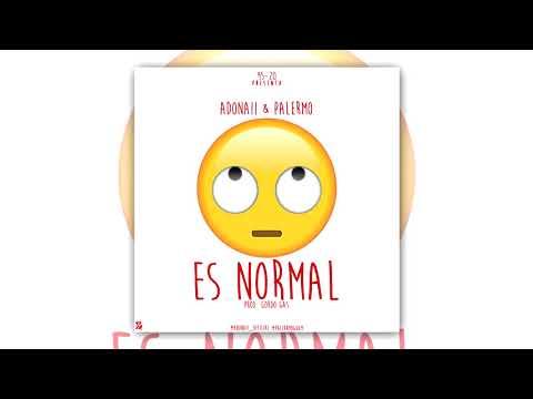 Palermo & Adonaii - Es Normal (Audio Oficial)